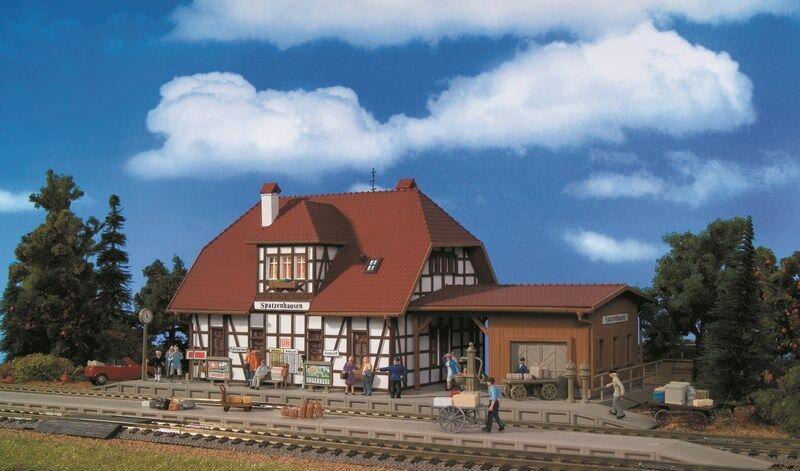 ventas en linea Vollmer kit 43501 43501 43501 NEW HO STATION SPATZENHAUSEN  diseños exclusivos