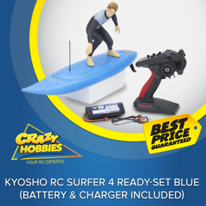 Kyosho RC Surfer 4 Ready-set Blue (Battery & Charger Included)