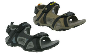 a92541d99acdf9 Hi-tec Crater Mens Walking Sandals Touch Fastening Comfort Holiday ...