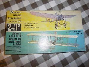 Kit Renwal's 234: 100 2 Fabuleuse Machine Volante Bleriot 1909 Et Kitty Hawk 1903