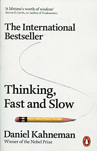 Thinking, Fast and Slow by Kahneman  New 9780141033570 Fast Free Shipping..