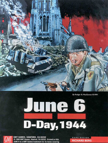 June 6 D-Day, 1944, Wargame, Used, by GMT Games, Games, Games, English Édition c71bef