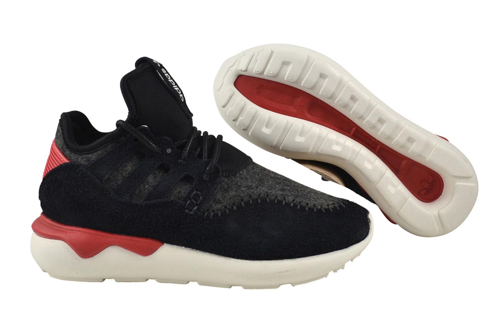 Adidas Tubular Moc Runner black/tomato/off white Laufschuhe B24693