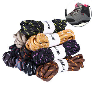 c41ffaaae33 Image is loading Outdoor-Walking-Boot-Hiking-Long-Strong-Round-Laces-