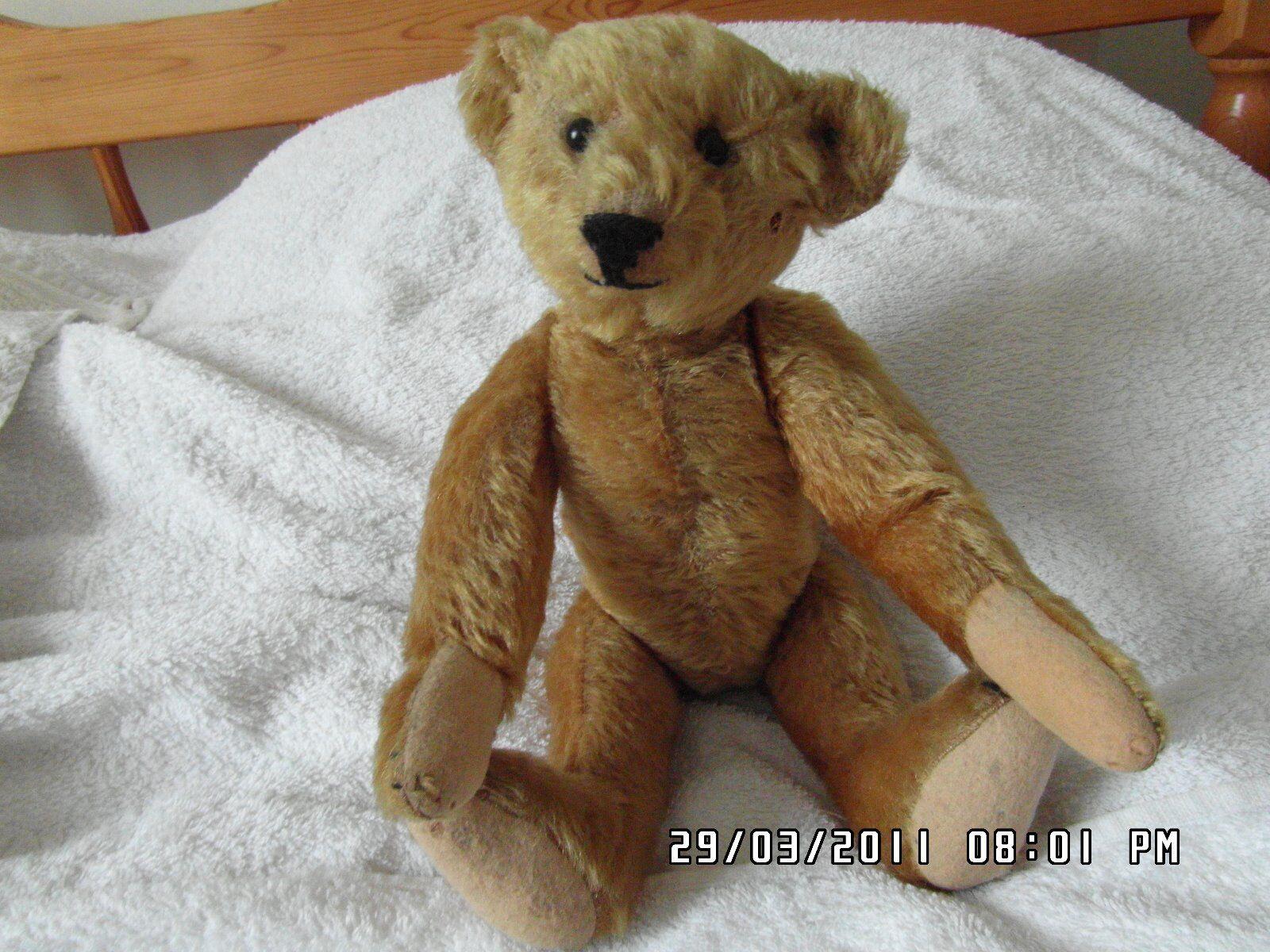 ULTRA RARA 13  1904-1906 [4mm] FF pulsante ORO Mohair cinque Artiglio Steiff orso.