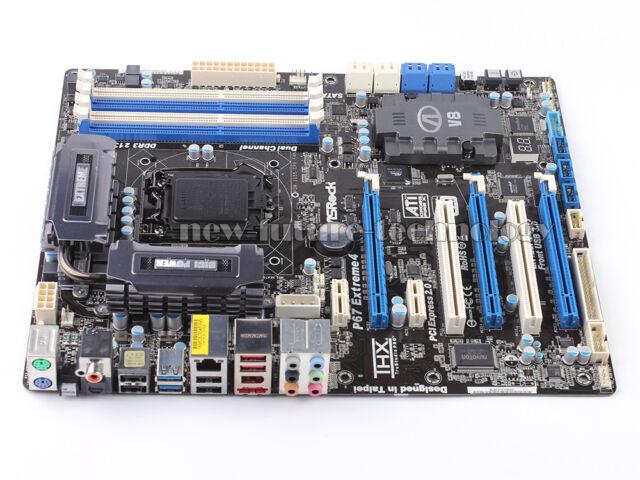 ASRock P67 Extreme4, LGA 1155, Intel P67 Motherboard USB 3.0 SATA3 6.0 Gb/s  ATX
