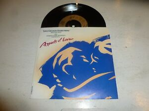 MICHAEL-BALL-Love-Changes-Everything-1989-UK-2-track-7-034-Vinyl-single