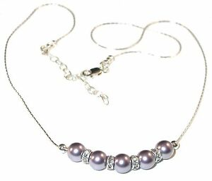 MAUVE-Pearl-Necklace-Bridal-Bridesmaid-Sterling-Silver-Swarovski-Elements
