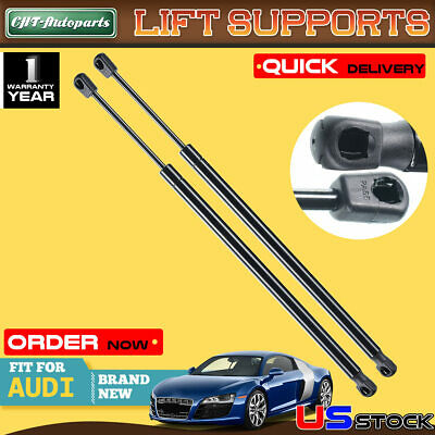 2x Tailgate Trunk Lift Supports Shock Struts for Audi TT Quattro 2008-2014 Coupe