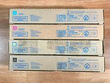 Konica Tn324 Cmyk Toner Set For Bizhub C258 C308 C368 Same Day Shipping