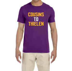 new product e270b d72cd Details about Minnesota Vikings Kirk Cousins To Adam Thielen T-Shirt