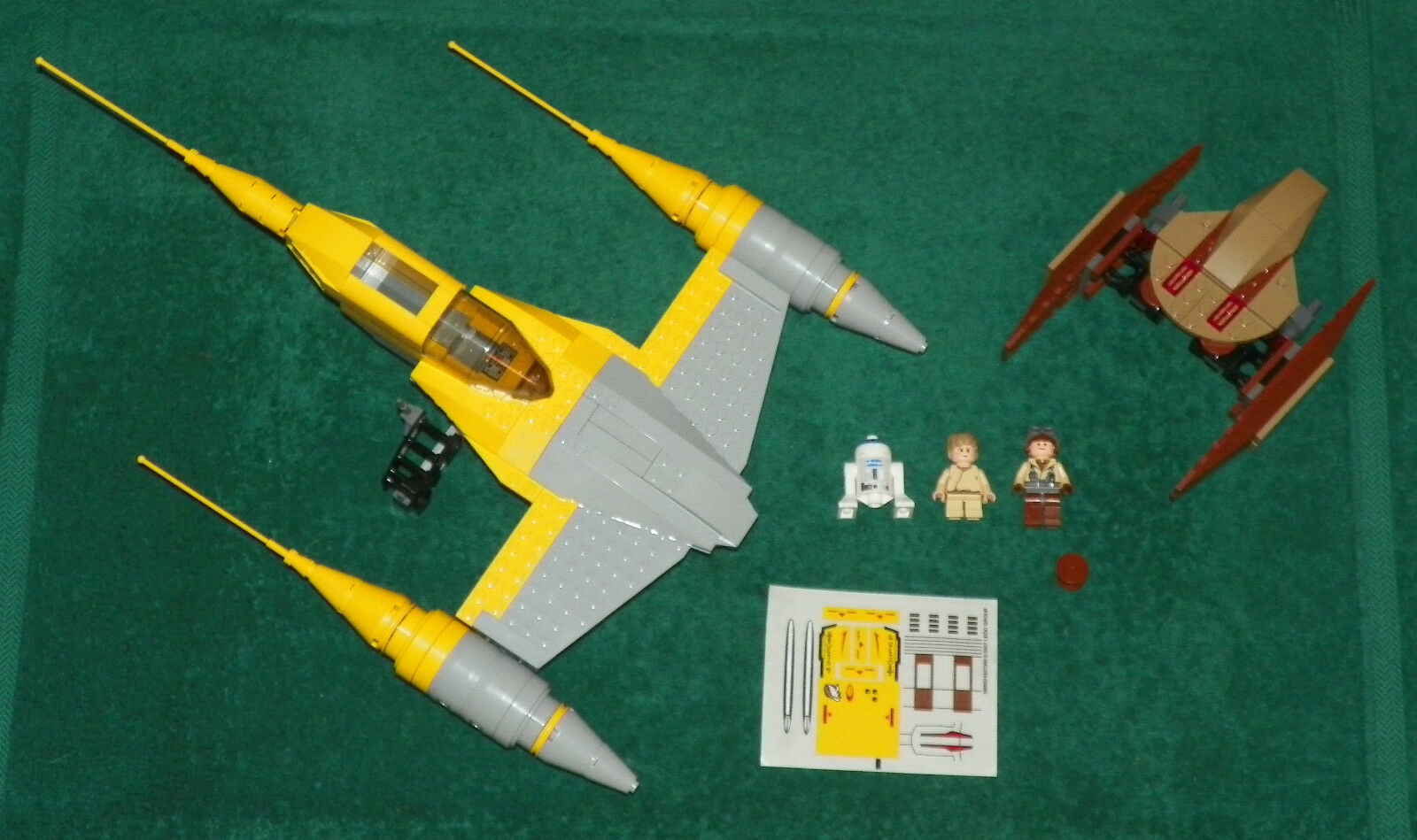 LEGO 7660 - Star STAR Wars - NABOO N-1 STAR Star FIGHTER - 100% COMPLETE e59e18