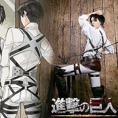 Attack on Titan Ausrüstung Geschirr Gürtel Belt Cosplay Kostüm Levi Mikasa Eren