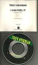 TROY NEWMAN I can Feel REMIX PROMO CD single w/ Billy Burnette Nicolette Larson