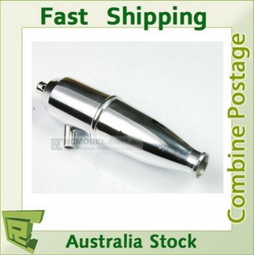 102009 HSP  Aluminum Exhaust Pipe 1//10 Upgrade 02124