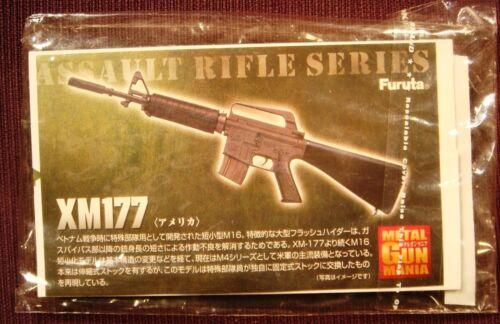 Furuta Gun Mania 1:6 Colt CAR-15 Commando XM177 NOT LIFE SIZE plastic toy