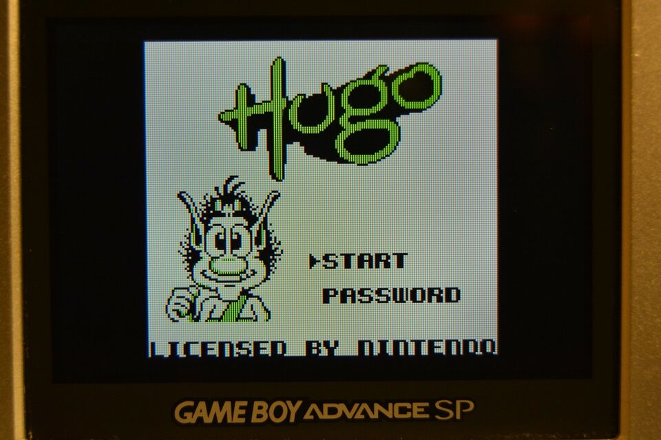 Hugo, Gameboy