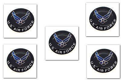 "1 Premium /""USN Navy/"" Automotive Grade Glossy Domed Decal Sticker Emblem 7//8 inch"
