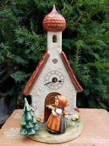 HUMMEL-Clock-034-Chapel-Time-034-Hummel-442-TMK-6-11-034-Tall