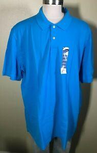 Basic Editions Short Sleeve Red 100/% Cotton Polo Shirt Big Men/'s 3XLT Tall NWT
