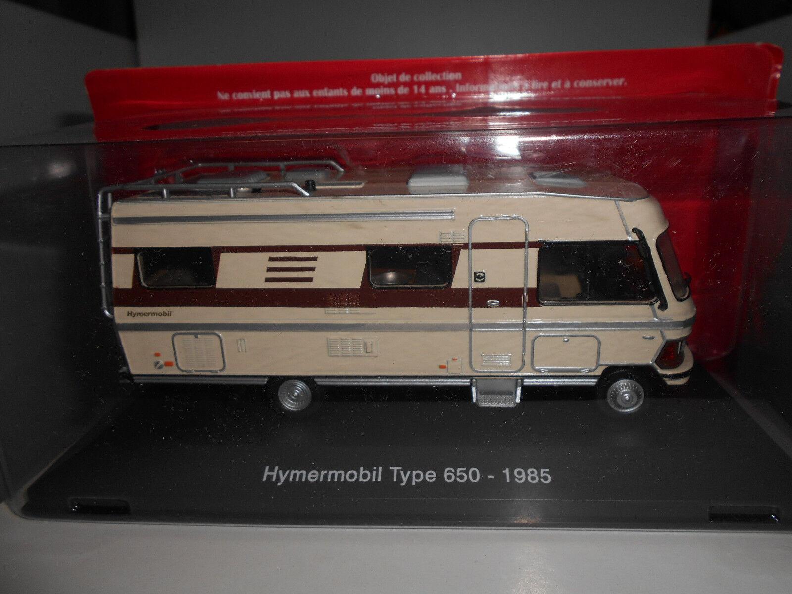 HYMERMOBIL TYPE 650 MERCEDES-BENZ CAMPING CAR CAR CAR HACHETTE 1 43 8ed982