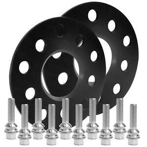 Blackline-Spurverbreiterung-10mm-m-Schrauben-silber-Porsche-Cayenne-955-957