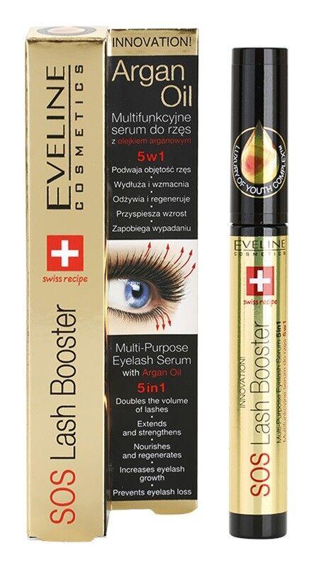 ecd9a6d7e15 Eveline SOS Lash Booster Multi-purpose Eyelash Serum 5 in 1 With Argan Oil  10ml for sale online | eBay