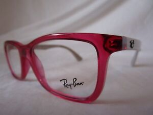 51d4369567 RAY BAN YOUTH EYEGLASS FRAME RY1562 3747 RED CHERRY GRAY 48-16-125 ...