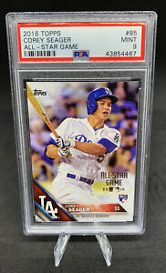 Corey Seager 💵💰 RC 🌈 2016 Rookie Card 💵 Rare Graded PSA 💎🔥 Invest Dodgers