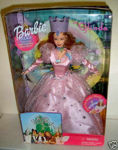 6696 NRFB Mattel 2000 Wizard of Oz Barbie as Glinda