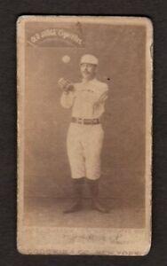 Details About 1887 1890 N172 Old Judge Baseball Card Ezra Sutton Boston