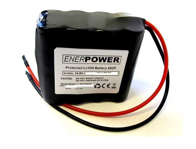 ENERpower 4S2P 14,4V  6,8Ah (100 Wh) Li-Ion 35E 35E 35E Kabel offenen Enden 4 x 2    Fuxin  6d538f