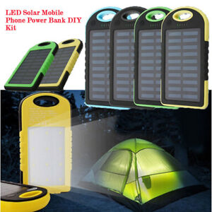 LED-Outdoor-Travel-Dual-USB-Solar-Mobile-Phone-Power-Bank-Case-Charger-DIY-Kit