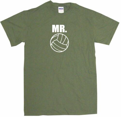 Mr Volleyball Logo Mens Tee Shirt Pick Size Color Small-6XL