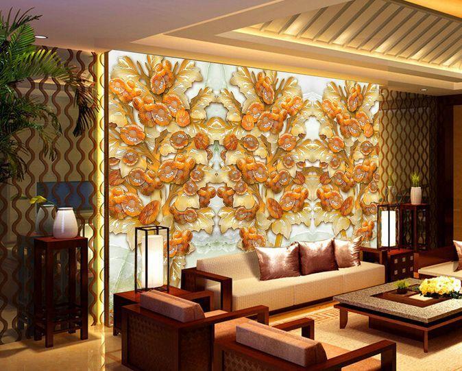 3D Arte, giada 26 Parete Murale Carta da parati immagine sfondo muro stampa