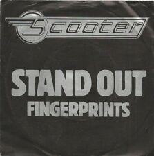 Scooter - Stand Out / Fingerprints (Vinyl-Single 1980) !!!