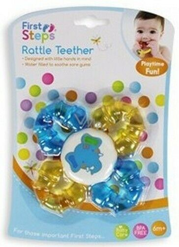 First Steps Rattle Teether 4 Colours Available!