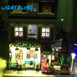 USB Powered LED Light Kit for Lego 10243 Parisian Restaurant