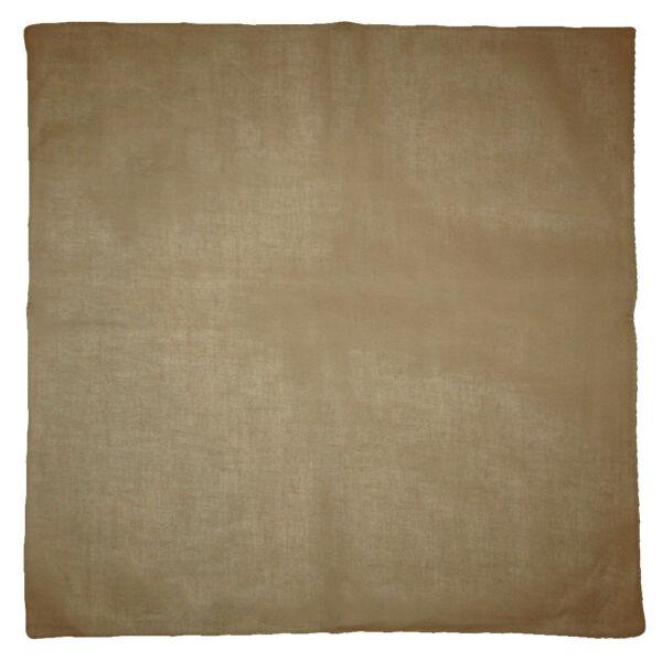All'ingrosso 3 Scuro Khaki Tinta Unita 100% Cotton 55.9cmx55.9cm Bandana
