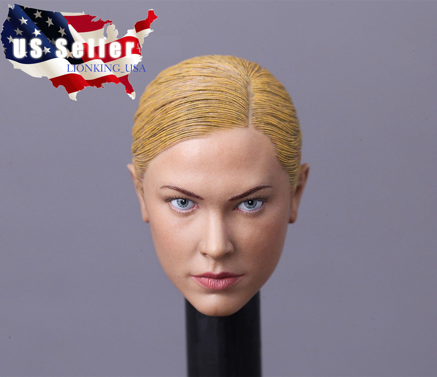 1 6 Kristanna Loken Terminator 3 T-X Head Sculpt 2.0 For Hot Toys PHICEN Female