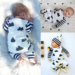 s ugling baby m dchen junge kleidung baumwolle body strampler outfits kost m uk ebay. Black Bedroom Furniture Sets. Home Design Ideas