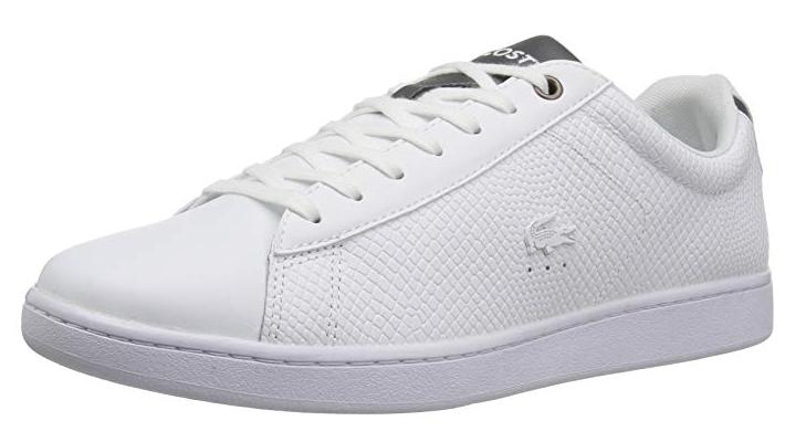 consegna diretta e rapida in fabbrica Lacoste Uomo Carnaby EVO 417 2 scarpe da ginnastica, Dimensione Dimensione Dimensione 11, bianca, NWT  economico online