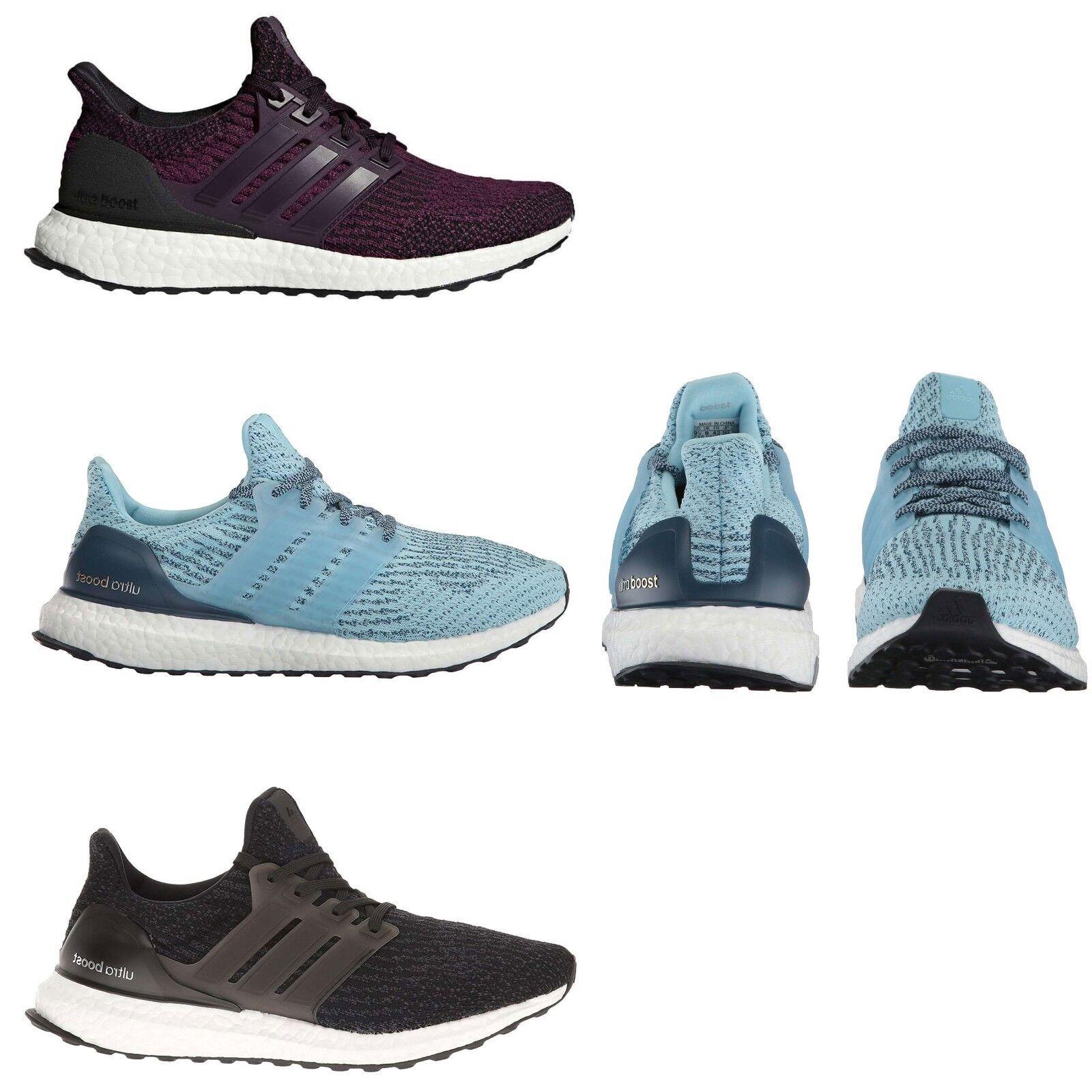 Adidas Damen Ultraboost PrimeKnit Laufschuhe Schwarz Weiß Blau Rote Turnschuhe