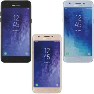 Samsung-Galaxy-J3-2018-16GB-Unlocked-AT-amp-T-T-Mobile-Global-Metro-PCS