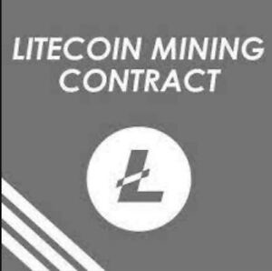 ⛏️ 1 LTC Litecoin Mining Contract For 24 Hours  ⛏️🤑