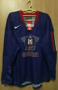 SLOVENIA-NATIONAL-TEAM-BNWT-ICE-HOCKEY-SHIRT-JERSEY-NIKE-SIZE-XL