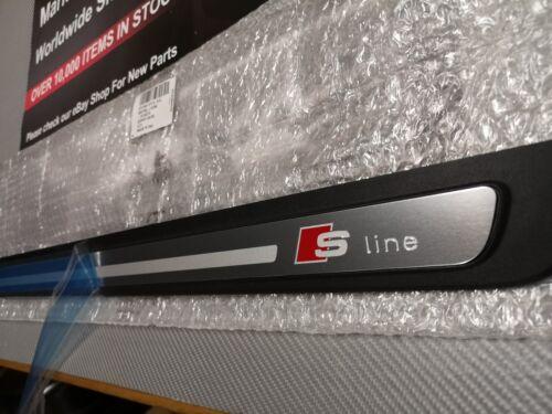 Audi A5 S5 S LINE Porte Coup De Pied Plaque Éraflure Plaque Gauche Origine Neuf 8T0853373H01C