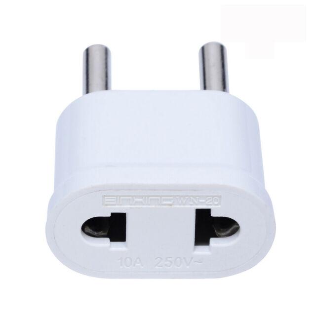 Adaptor US To EU Charger Travel Plug Converter Socket Adapter Conversion plugs