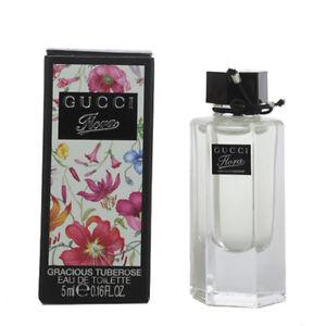 270875e73 Gucci Flora Gracious Tuberose Mini 0.16 / .16 oz / 5 ml EDT Splash ...