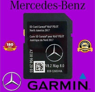 2018 Mercedes-Benz SD Card GPS Navigation GLC C-Class Garmin Map Pilot v8.2